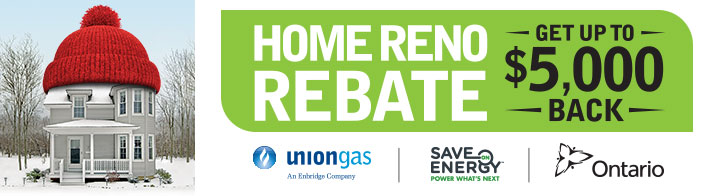 Union Gas Home Reno Rebate