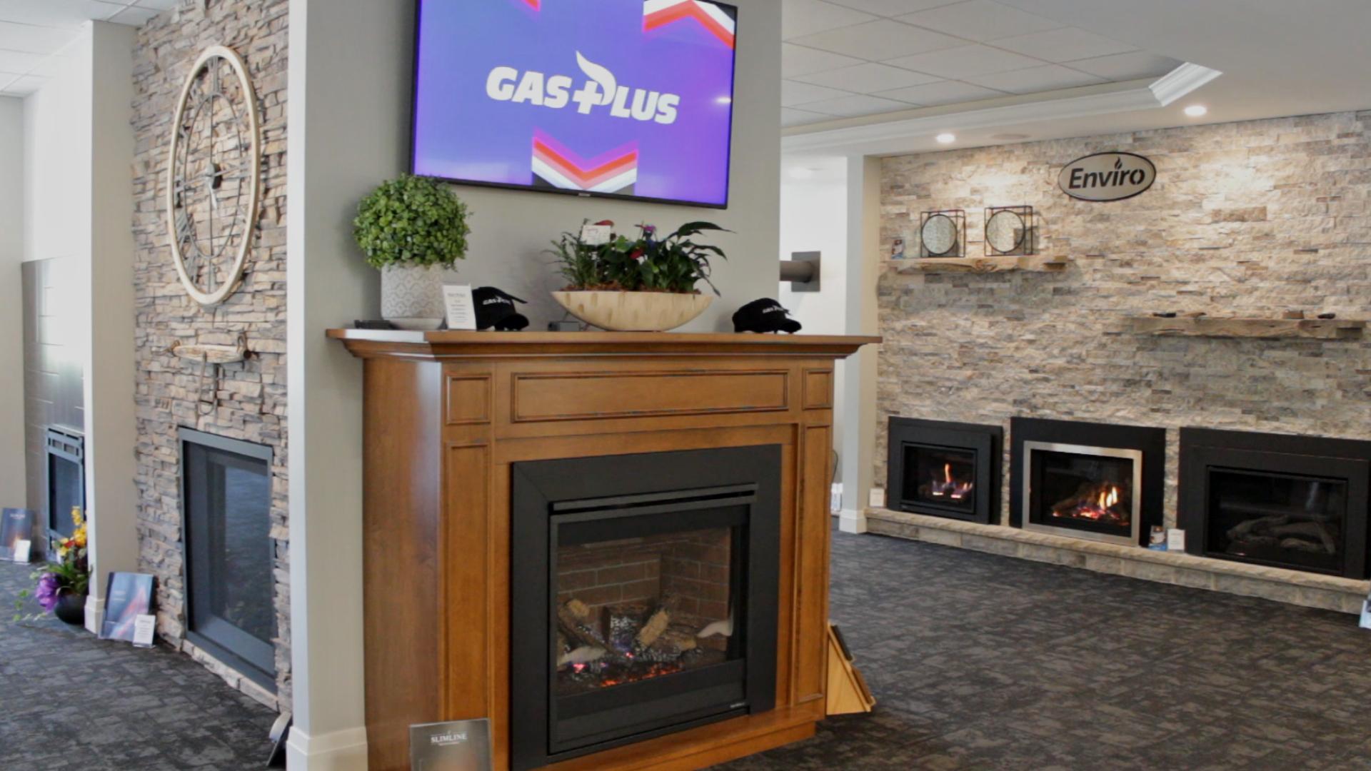 Gas Plus Showroom Interior in Owen Sound